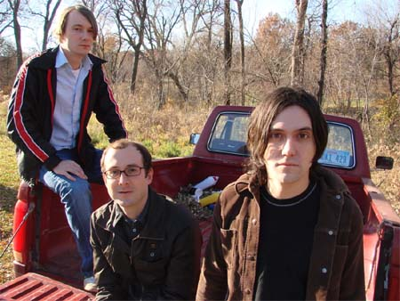 Brights Eyes, (from left to right) Joe McEveryperson, Some Guy, and Conor Oberst