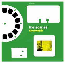 The Scaries -- Souvenir CD Art