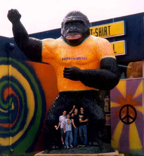 The Scaries with King Kong