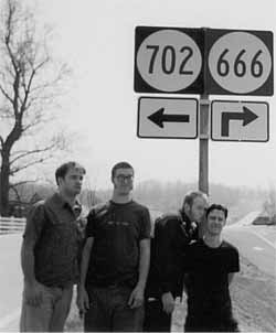 The Scaries lost on Highway 666
